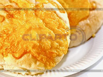 Weißbrot mit Käse | Foto mit hoher Auflösung |ID 3014026