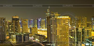 City at night, Dubai | High resolution stock photo |ID 3014096