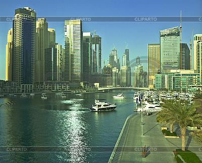 여름에 마 풍경입니다. 두바이 마리나. | 높은 해상도 사진 |ID 3014388
