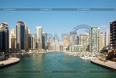 Town scape at summer. Dubai Marina | High resolution stock photo |ID 3015801