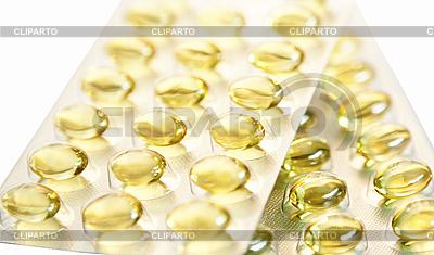 노란색 약 알 약의 팩 | 높은 해상도 사진 |ID 3015832