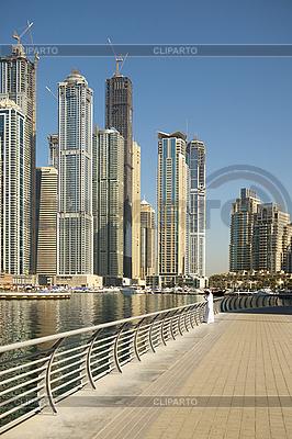 Town scape at summer. Dubai Marina. | High resolution stock photo |ID 3015867