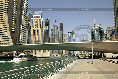 Town scape at summer. Panoramic scene, Dubai. | High resolution stock photo |ID 3016503