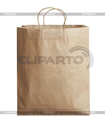 Torba na zakupy papieru | Foto stockowe wysokiej rozdzielczości |ID 3016512