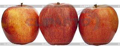 Three apples   High resolution stock photo  ID 3016543