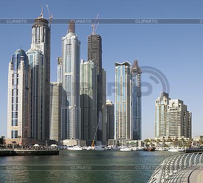 여름에 마 풍경입니다. 파노라마 장면, 두바이. | 높은 해상도 사진 |ID 3016724