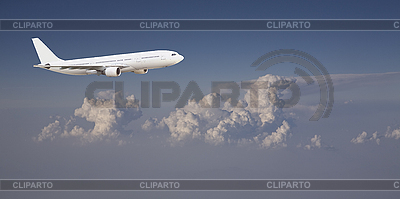 Airliner in sky | High resolution stock photo |ID 3018206
