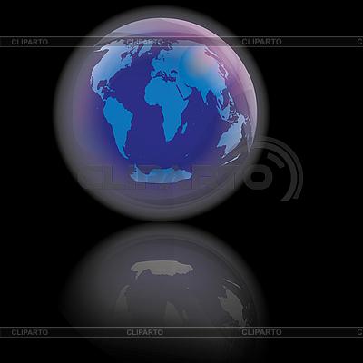 Blue planet | Stockowa ilustracja wysokiej rozdzielczości |ID 3018648