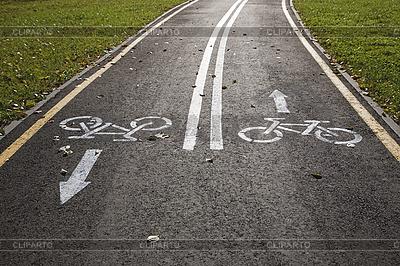 Fahrradweg | Foto mit hoher Auflösung |ID 3064831