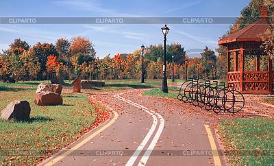 Fahrradweg | Foto mit hoher Auflösung |ID 3066135