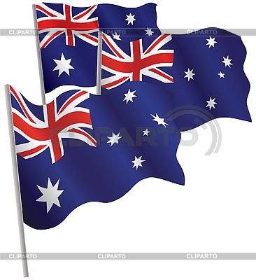 Commonwealth of Australia 3d flag. | Stock Vector Graphics |ID 3013033