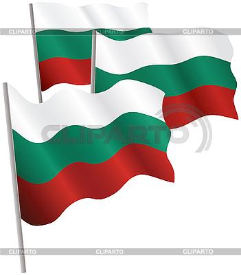 保加利亚共和国三维标志   向量插图  ID 3013041