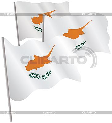 塞浦路斯三维标志。 | 向量插图 |ID 3013047