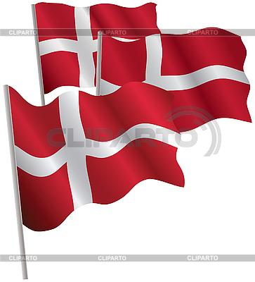 丹麦王国三维标志。 | 向量插图 |ID 3013049