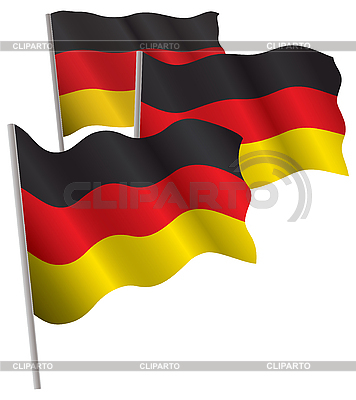 Germany 3d flag | Stock Vector Graphics |ID 3013059