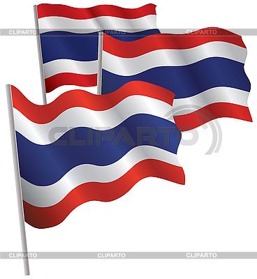 泰国三维标志。 | 向量插图 |ID 3013081