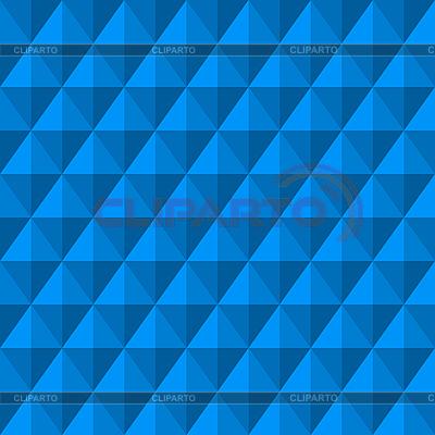 Hintergrund mit blauen 3D-Diamanten | Stock Vektorgrafik |ID 3013113