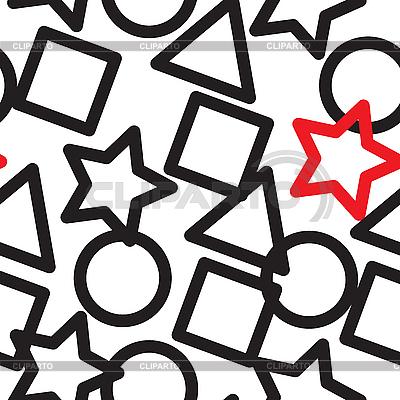 Hintergrund mit geometrischen Figuren | Stock Vektorgrafik |ID 3013119