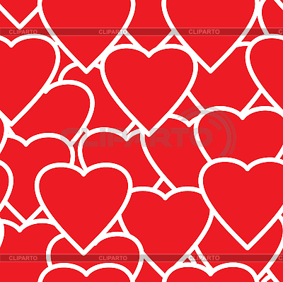 Valentine's day seamless background. | Stock Vector Graphics |ID 3013232
