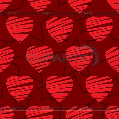 발렌타인 원활한 배경 | 벡터 클립 아트 |ID 3013289