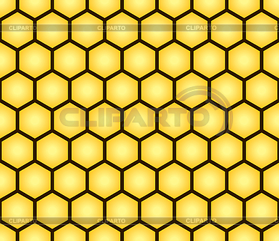 Seamless pattern of honeycomb form | Stock Vector Graphics |ID 3013354
