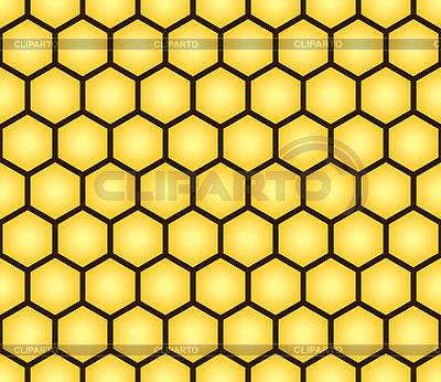 벌집 형태의 원활한 패턴 | 벡터 클립 아트 |ID 3013354