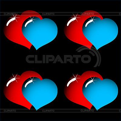 Nahtloses Valentinstag-Hintergrund | Stock Vektorgrafik |ID 3013374