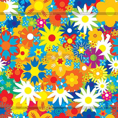 Jednolite tło kwiaty | Klipart wektorowy |ID 3013526