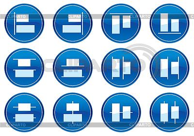 Ikony gadżet | Klipart wektorowy |ID 3013598