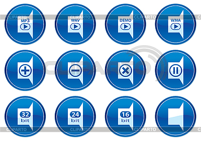 Icons für Gadget | Stock Vektorgrafik |ID 3013626