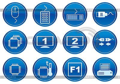 Icons for gadget   Stock Vector Graphics  ID 3013656