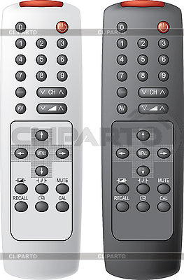 Remote control for the TV | Stock Vector Graphics |ID 3013704