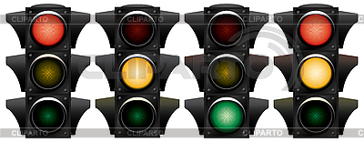 Traffic-light | Stock Vector Graphics |ID 3013716