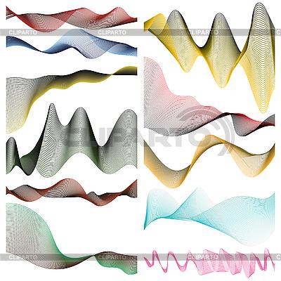 Farbige lineare Streifen | Stock Vektorgrafik |ID 3013881