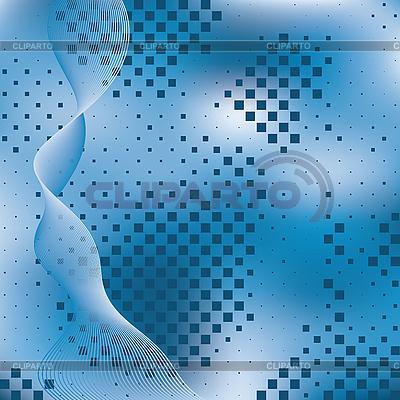 타일 추상 파란색 배경입니다. | 벡터 클립 아트 |ID 3013939