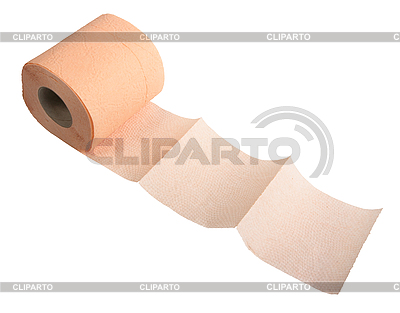 Pink toilet paper.   High resolution stock photo  ID 3032725