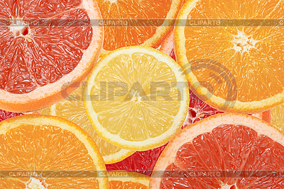 Hintergrund von Zitrus-Scheiben | Foto mit hoher Auflösung |ID 3032810