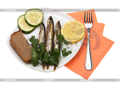 Smoked fishes | High resolution stock photo |ID 3032827
