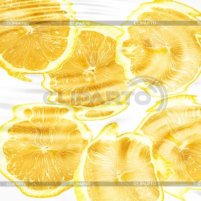 Zitrusfrüchten unter Wasser | Foto mit hoher Auflösung |ID 3033093