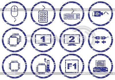 Gadget icons set   Stock Vector Graphics  ID 3063507