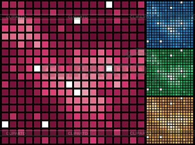 Mosaik-Hintergründe | Stock Vektorgrafik |ID 3064117