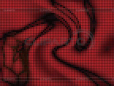 추상 빨간색 타일 배경 | 벡터 클립 아트 |ID 3064929
