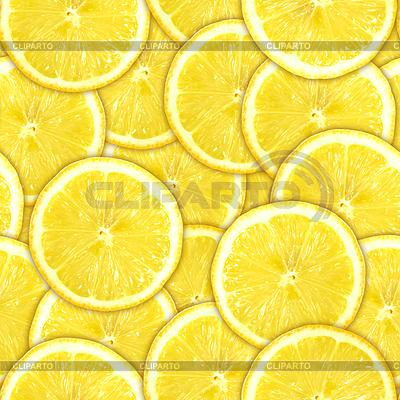 Nahtloses Muster aus gelben Zitronenscheiben | Foto mit hoher Auflösung |ID 3274217