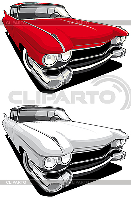 American car | Stock Vector Graphics |ID 3014525
