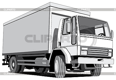 Black and white wagon | Stock Vector Graphics |ID 3014774