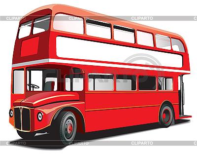 Piętrowy autobus | Klipart wektorowy |ID 3014788