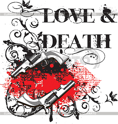 Love and Death | Stock Vector Graphics |ID 3014844