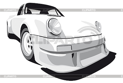 White car | Stock Vector Graphics |ID 3014888