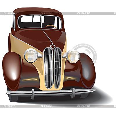 Samochód retro | Klipart wektorowy |ID 3014896