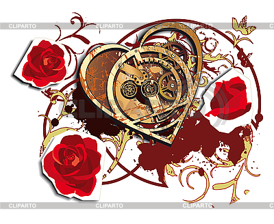 Time for Love | Stock Vector Graphics |ID 3014916